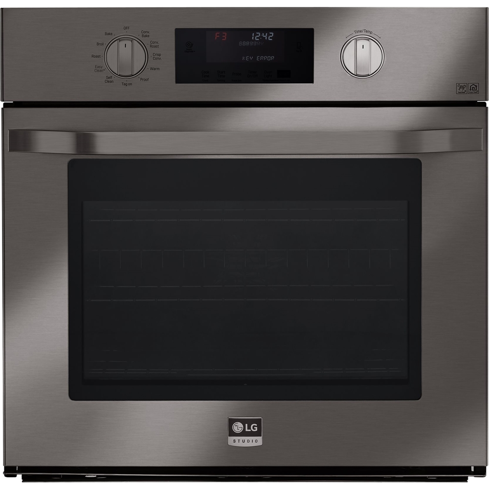 Mutable Lg Studio Single Electric Convection Wall Oven Blackstainless Lg Studio Single Electric Convection Wall Oven Lg Black Stainless Microwave Lg Black Stainless Appliance Package houzz 01 Lg Black Stainless