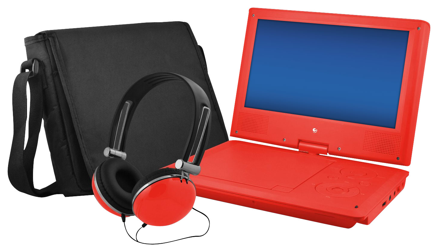 Bodacious Ematic Portable Dvd Player Swivel Screen Red Larger Front Sylvania Portable Dvd Player Black Buy Portable Dvd Player Toddler baby Portable Dvd Player For Kids