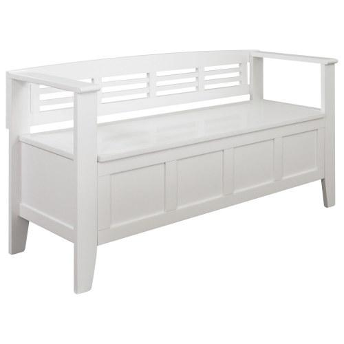 Medium Crop Of White Storage Bench