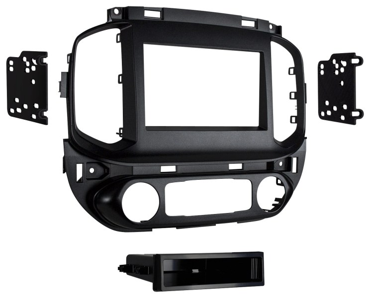 Metra Dash Kit for 2015 and Later Chevrolet Colorado and GMC Canyon     Metra   Dash Kit for 2015 and Later Chevrolet Colorado and GMC Canyon  Vehicles   Gunmetal