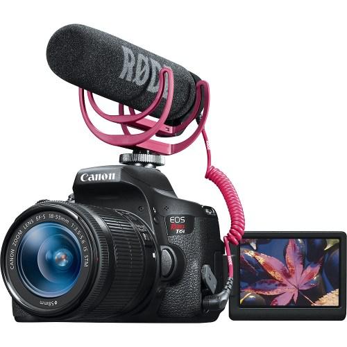 Medium Crop Of Canon Rebel T6i Bundle