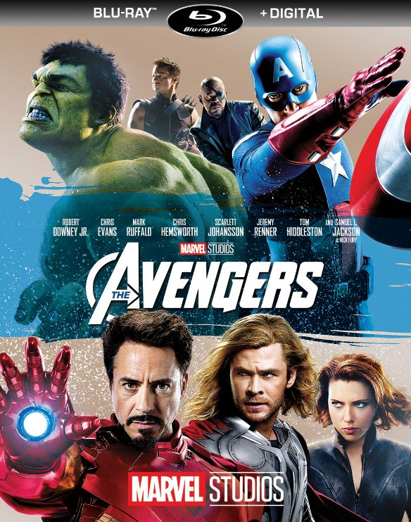 The Avengers  Includes Digital Copy   Blu ray  2012   Best Buy The Avengers  Includes Digital Copy   Blu ray   2012