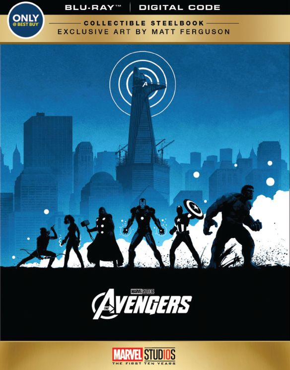 Marvel s The Avengers  SteelBook   Blu ray   Only   Best Buy  2012     Marvel s The Avengers  SteelBook   Blu ray   Only   Best Buy
