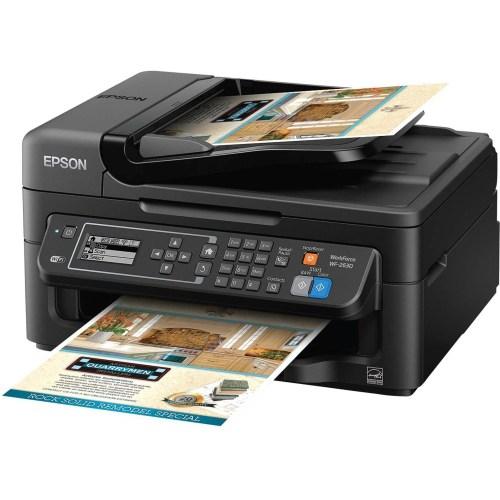 Medium Of Epson Printer Not Printing Black