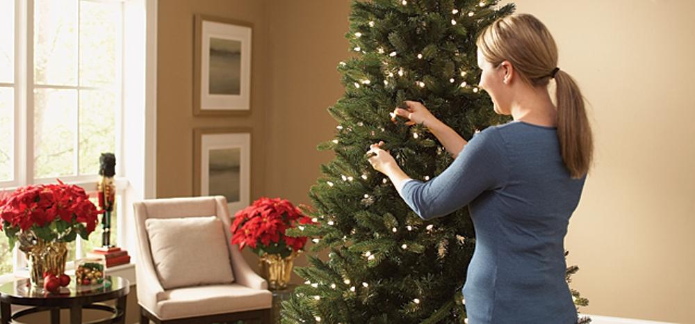 Escolhendo a árvore de Natal certa para sua casa