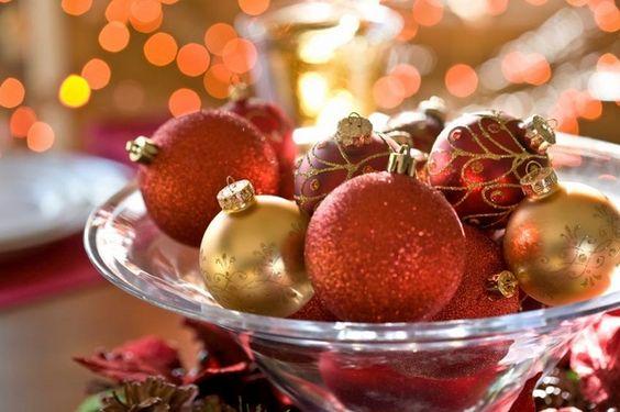 Dicas de arranjos para o Natal
