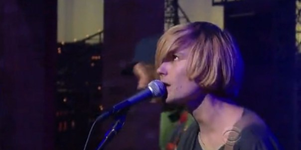 """Watch DIIV Do """"Doused"""" on """"Letterman"""""""