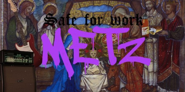 Tomorrow, Watch Metz and King Tuff Perform Live at Pitchfork.tv's Office