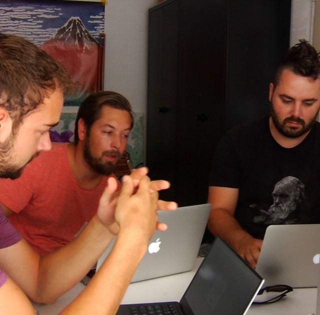 Remy Bakker, Luc Princen en Dirk Groenen: Alpackit