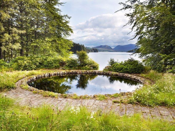 Garden Destinations: Corrour Lodge's Wild Garden