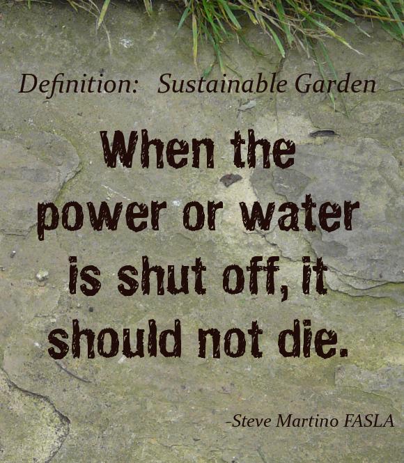 Sustainable Garden Definition