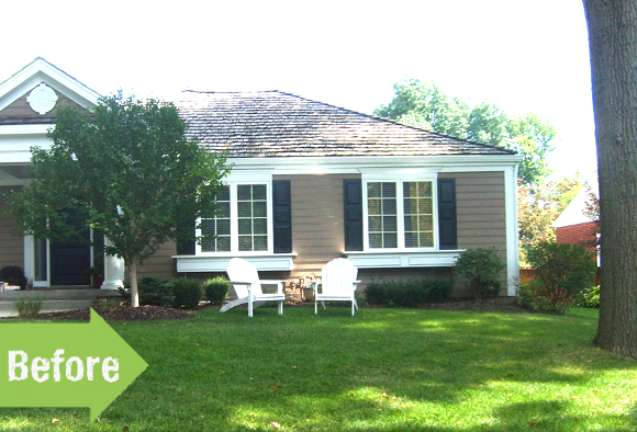 Before & After: A Relaxing Space for a Quaint Front Yard