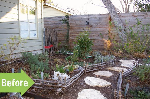 Before & After: A Cozy Renewal for a Southern Backyard