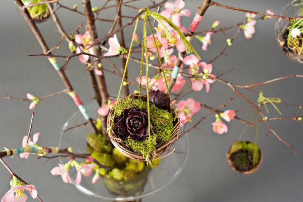 The Language of Spring in A Garden Inspired Easter Tree