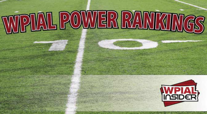 WPIAL Power Rankings: Week 4