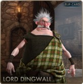 Brave Cards - Lord Dingwall