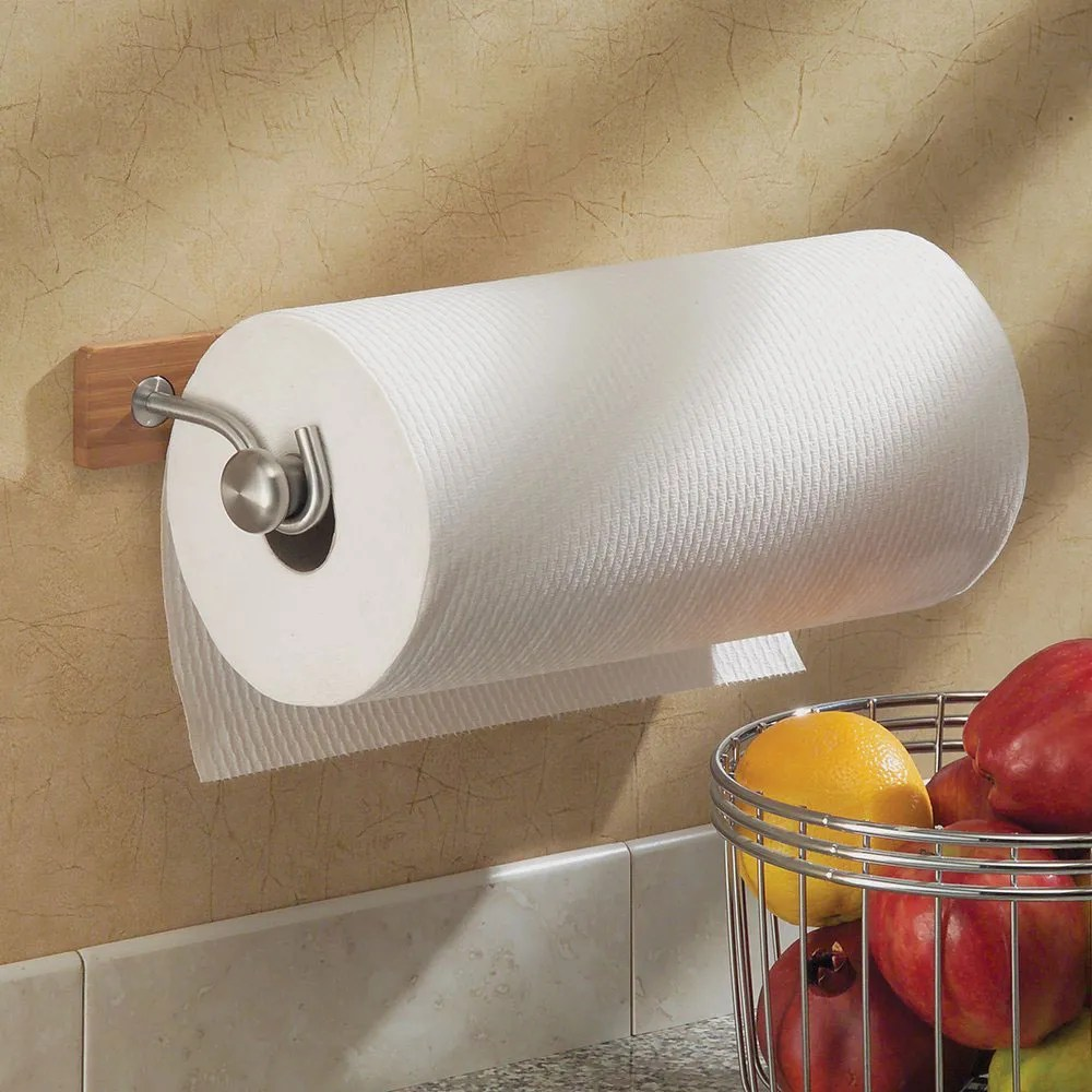 Clever Rv Interdesign Formbu Paper Towel Her Shelf Paper Towel Hers Kitchen Wall Stainless Steel Hers According To Reviews 2017 Paper Towel Hers houzz 01 Paper Towel Holders