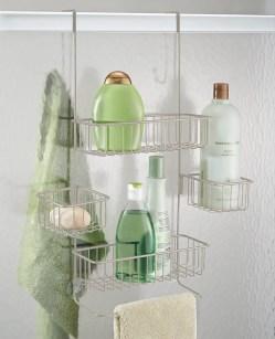 Cosmopolitan Shower Shower Organizers On Amazon Adjustable Bathroom Shelves Conditioner Interdesign Metalo Adjustable Over Door Shower Caddy Bathroom Storageshelves