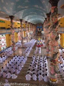 Caodist Temple - Vietnam