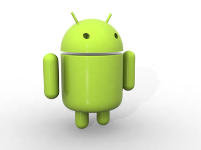 3D Google Android Robot or Mascot for $3.50/- Only