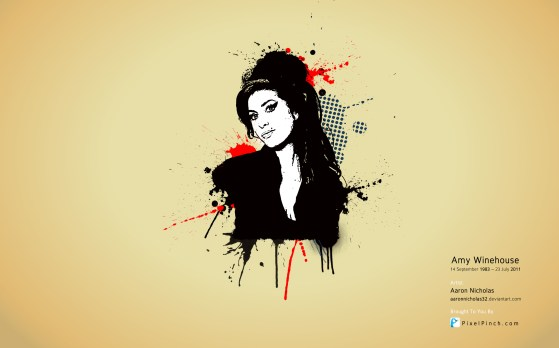 Amy Winehouse High Res Wallpaper PixelPinch