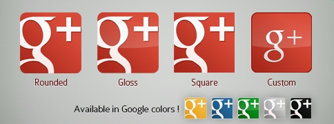New Red Google Plus or Page Vector Icon Pack Google Plus Vector Icon Pack