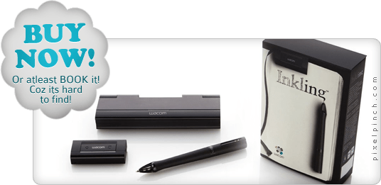 Buy Now INKLING Wacom Inkling   Draw on paper & transfer digitally into layers
