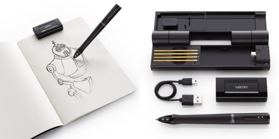 Wacom inkling sample components