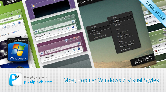 Windows 7 Visual Styles Themes