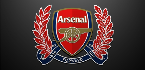 arsenal logo low res banner Arsenal Football Club Wallpapers   2011