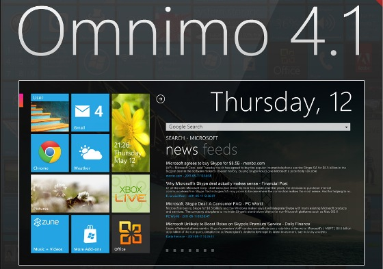omnimo 4 1 for rainmeter by fediafedia d2mhn7l Best Rainmeter Themes / Skins Collection   2011