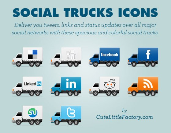 social trucks title card 640 Best Free Social Media Icon Pack Collection