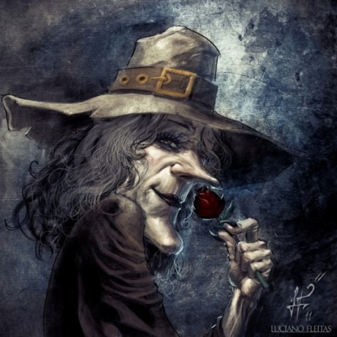 brujita by demitrybelmont d41gjy8 20 Fresh, Best & Scary Halloween Artworks Of Year 2011