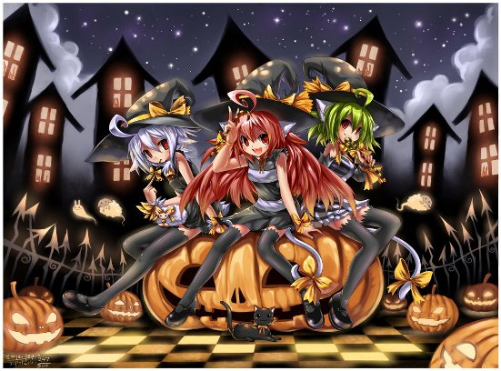 happy halloween 2011 by emperpep d4efv0l 20 Fresh, Best & Scary Halloween Artworks Of Year 2011