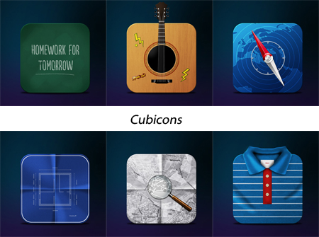 Cubicons Fresh & Best Icon Collection Of The Month November #4