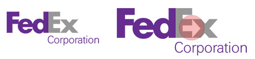 FedEx Corporation logo Case Study: How To Use The Negative Space