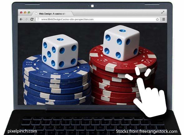 Webdesign Casino Perspective