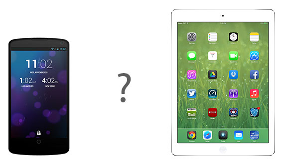 phone vs tablet Tablets vs. Smartphones and Why Design Matters