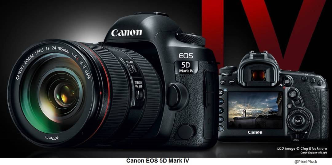 Canon 5D Mark IV - Review, Features & Specifications