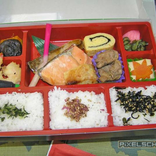 Leckere Bentobox