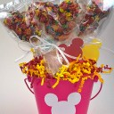 Super Cute DIY Mickey Treat Party Favor Centerpiece