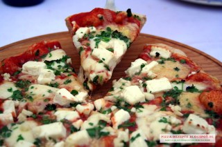 Pizza Feta selber backen
