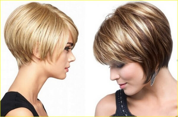 Latest Short Thick Hair Celebrity Hairstyles for Women