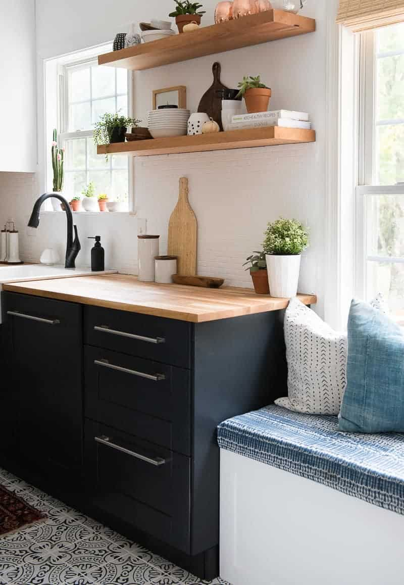 Large Of Two Toned Kitchen Cabinets