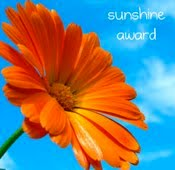 The Sunshine Blogging Award