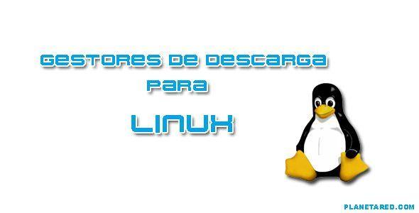 Gestores descarga para Linux