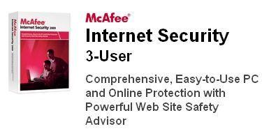 McAfee Internet Security con licencia gratuita durande 6 meses
