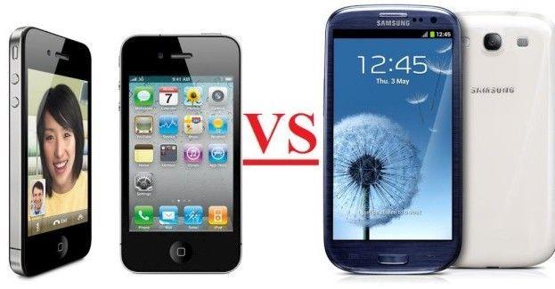 Sansumg Gálaxy S3, Iphone 4S