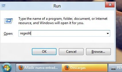Regedit Windows 8