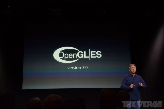 Open GL 3.0 en iOS 7 para el iPhone 5S